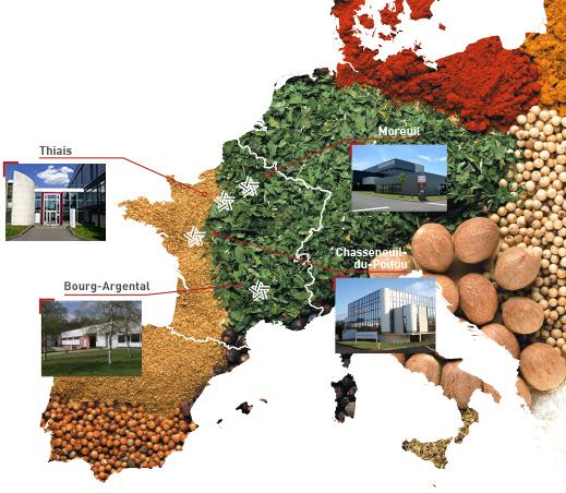 carte europe nos sites